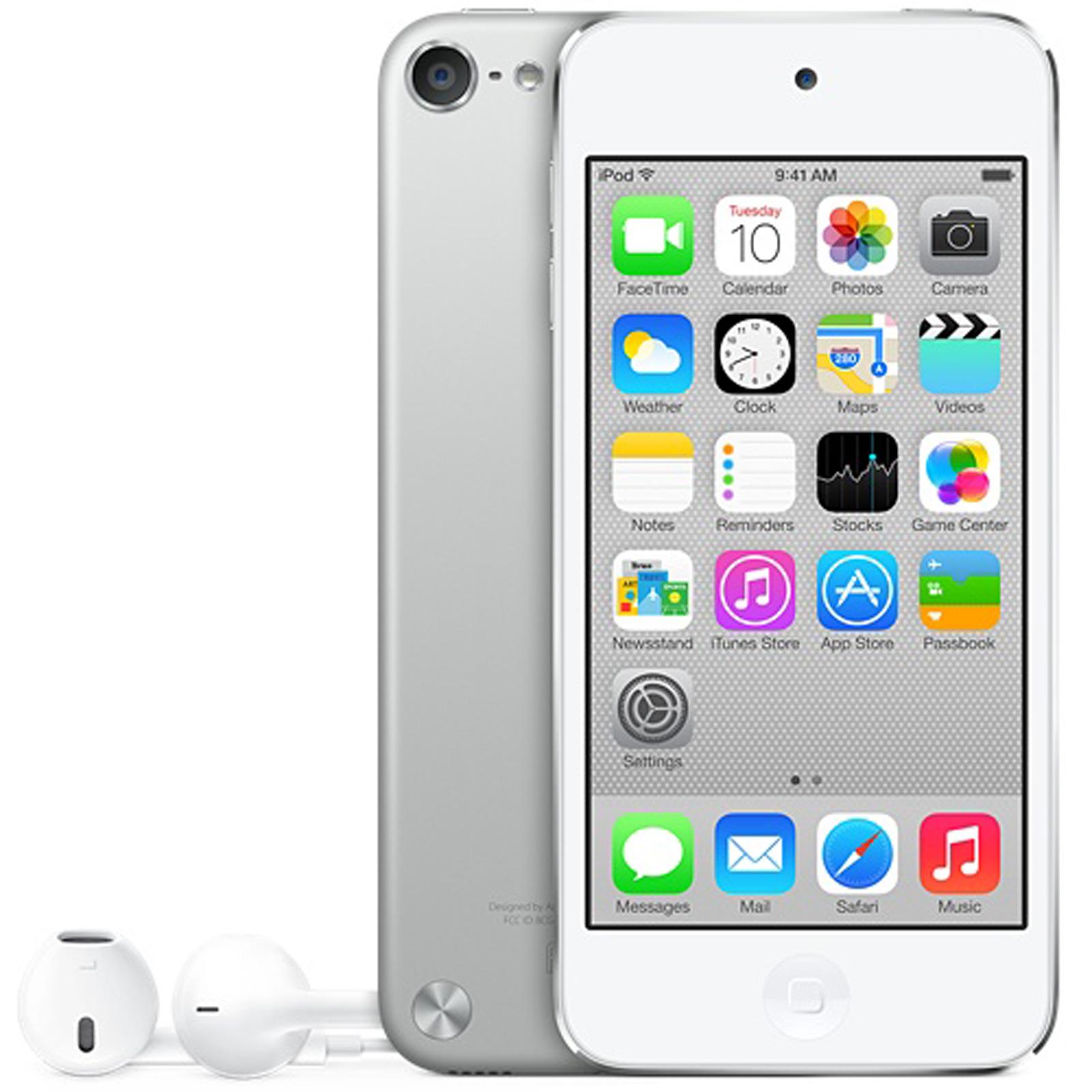 Lecteur MP3 & iPod Apple iPod touch 64 Go Argent Apple iPod touch 64 Go Argent