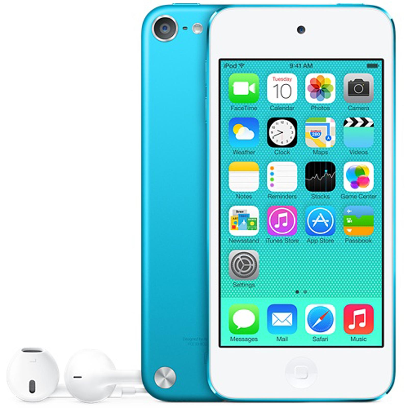 apple ipod touch 16 go bleu lecteur mp3 ipod apple sur. Black Bedroom Furniture Sets. Home Design Ideas