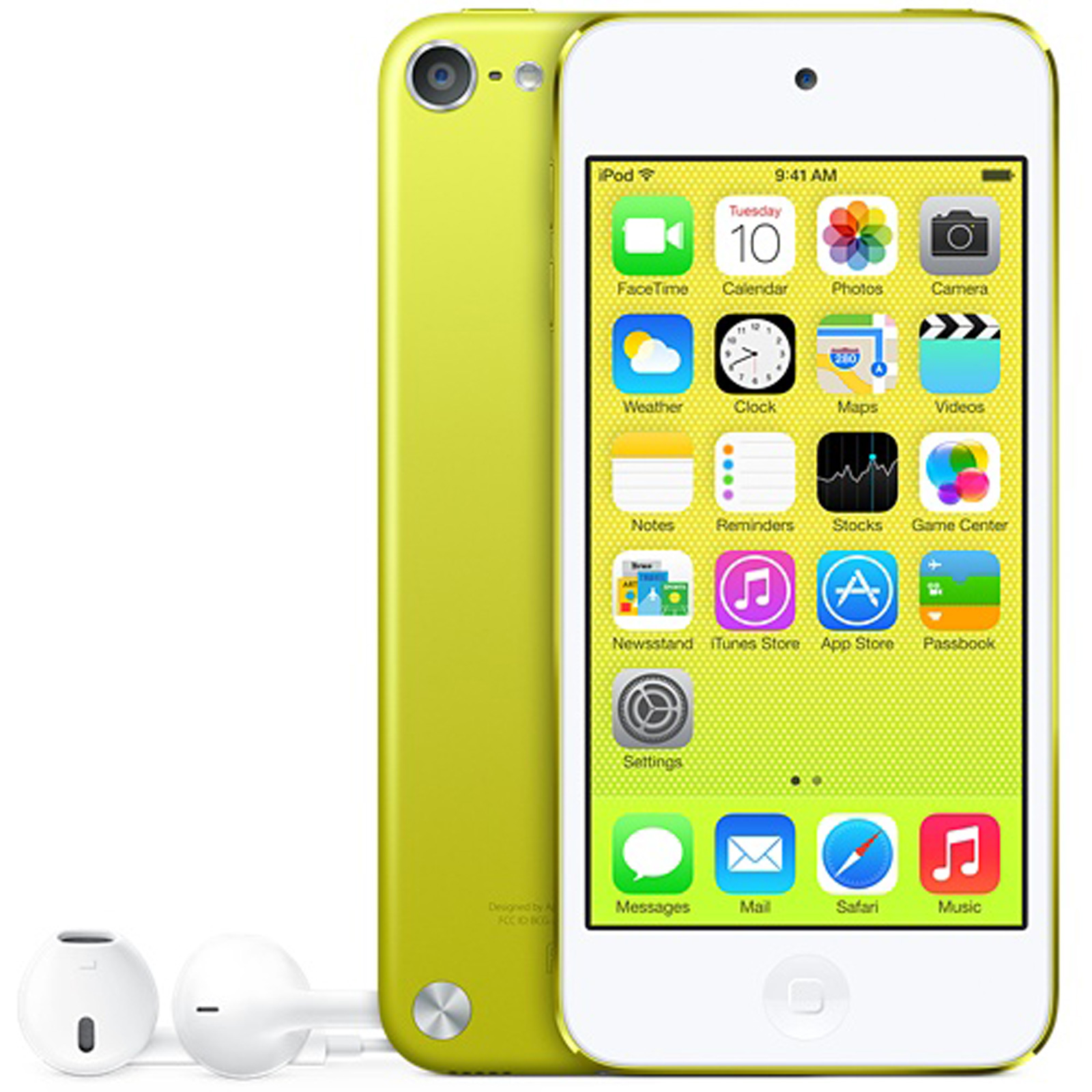 apple ipod touch 16 go jaune lecteur mp3 ipod apple sur. Black Bedroom Furniture Sets. Home Design Ideas