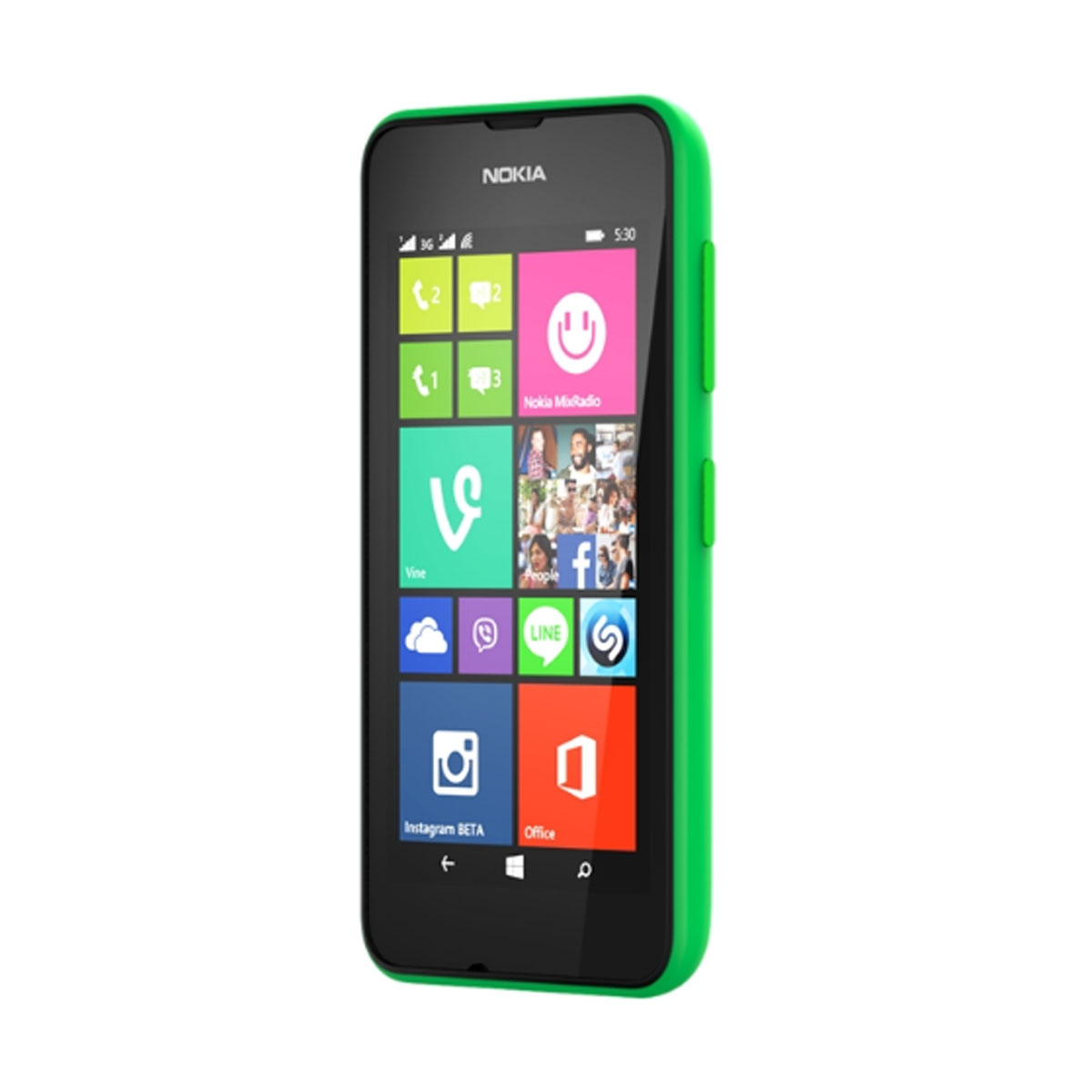 nokia lumia 530 dual sim vert mobile smartphone nokia. Black Bedroom Furniture Sets. Home Design Ideas
