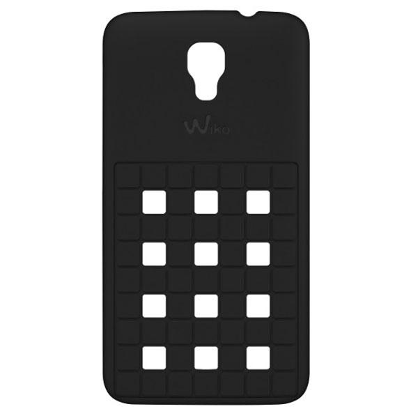 Etui téléphone Wiko Coque Damier Noire Wiko Bloom Coque pour Wiko Bloom