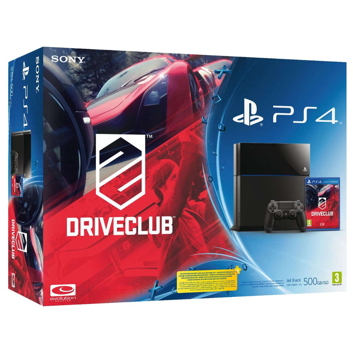 Sony playstation 4 driveclub console ps4 sony - Console informatique pas cher ...
