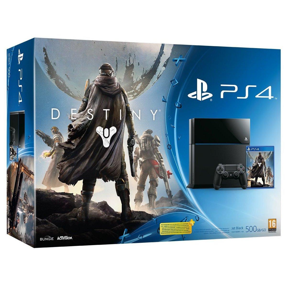 Console PS4 Sony PlayStation 4 + Destiny Console de jeux-vidéo nouvelle génération avec disque dur 500 Go + jeu