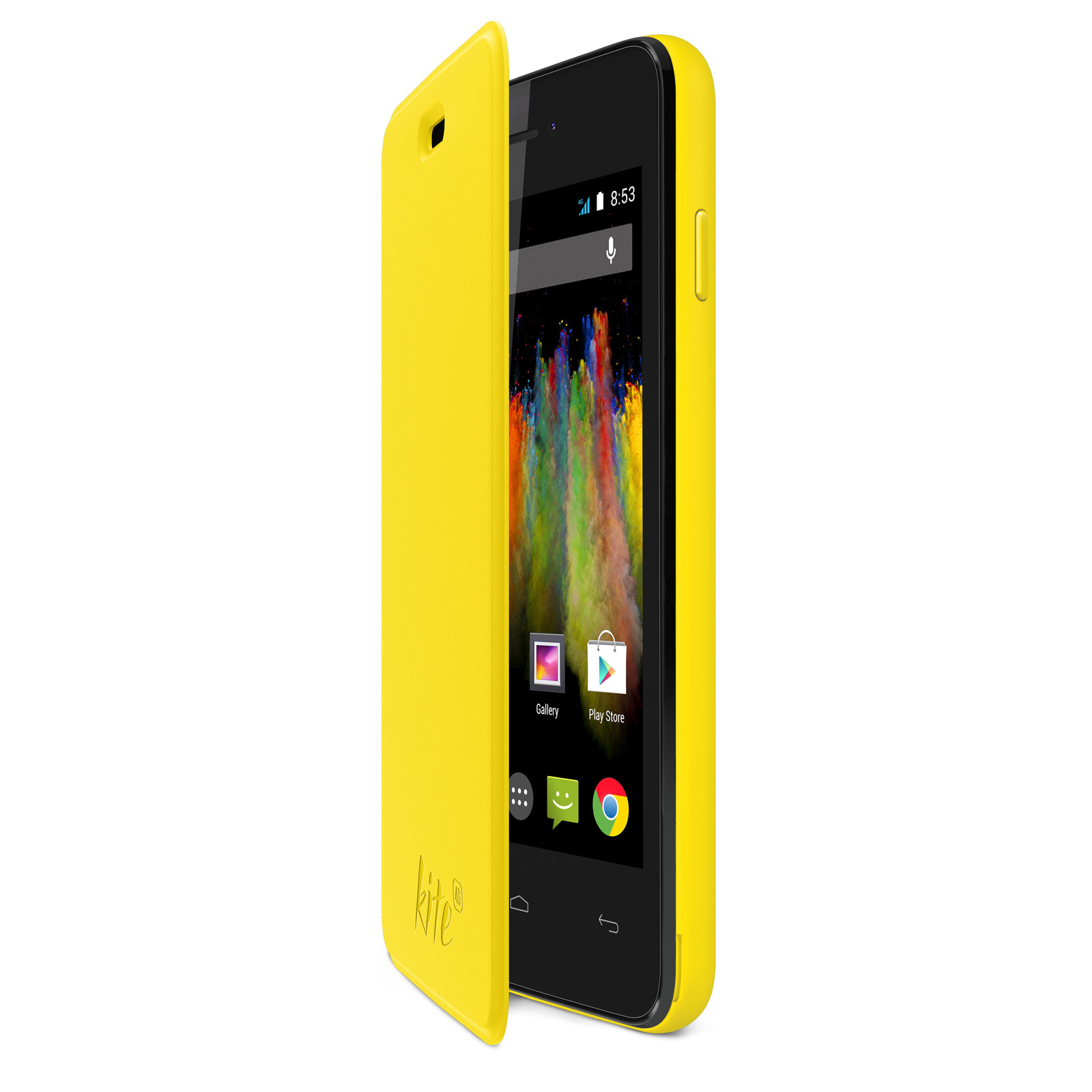 wiko folio coque arri re jaune wiko kite etui t l phone wiko sur. Black Bedroom Furniture Sets. Home Design Ideas