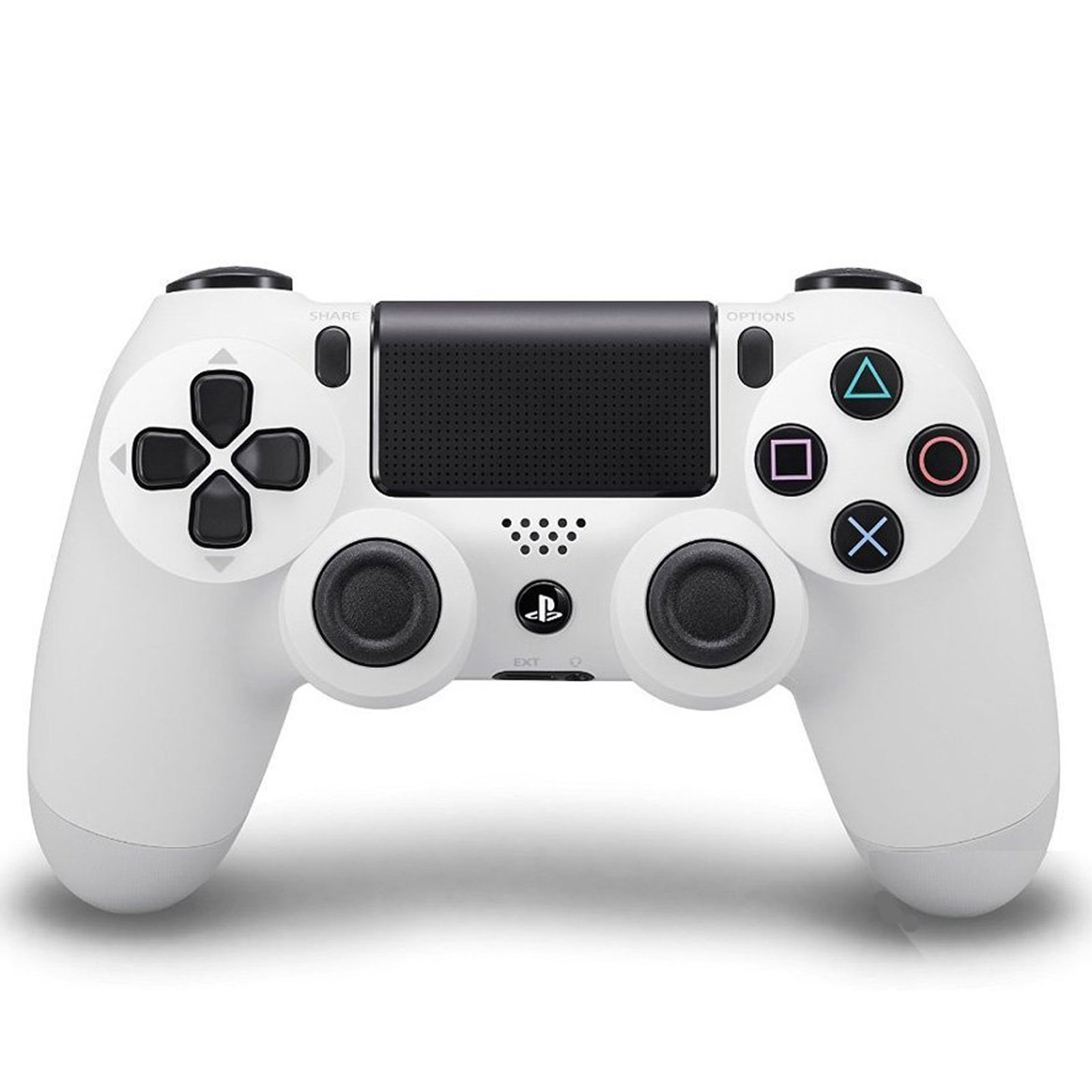 sony dualshock 4 blanche accessoires ps4 sony. Black Bedroom Furniture Sets. Home Design Ideas