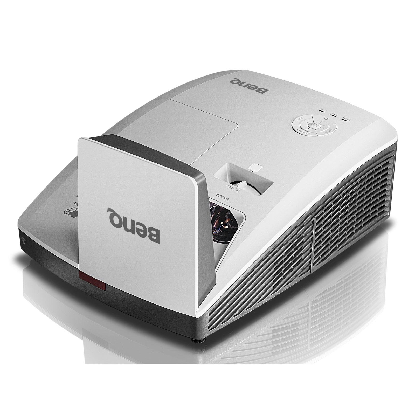 Vidéoprojecteur BenQ MW853UST+ Vidéoprojecteur DLP WXGA 3D Ready 3200 Lumens Focale Ultra-courte et Lens Shift