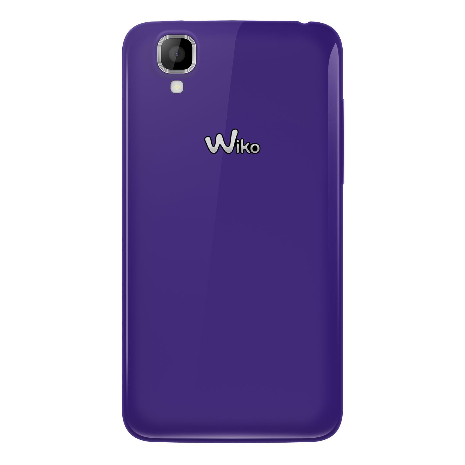 Wiko goa violet mobile smartphone wiko sur for Photo ecran wiko