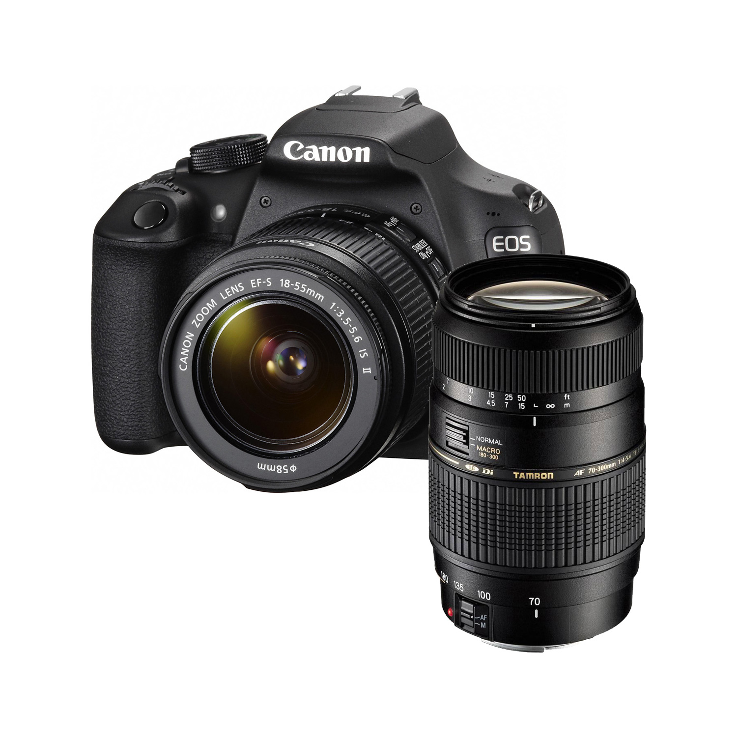 canon eos 1200d objectif ef s 18 55mm is ii tamron af. Black Bedroom Furniture Sets. Home Design Ideas