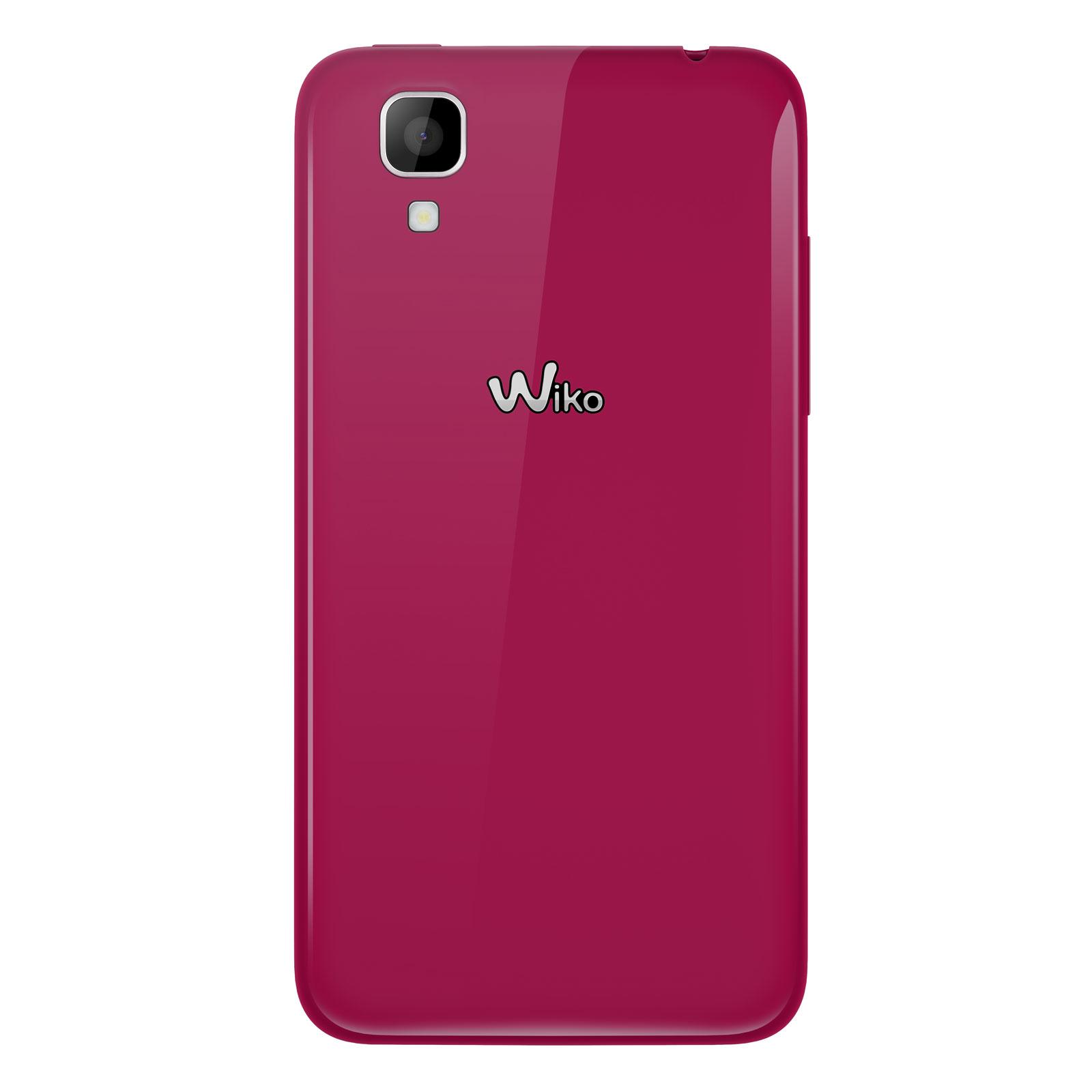 Wiko sunset fuchsia mobile smartphone wiko sur for Photo ecran wiko
