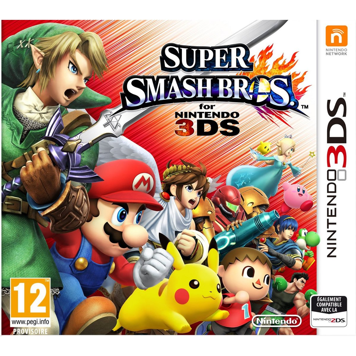 super smash bros nintendo 3ds 2ds jeux nintendo 3ds nintendo sur. Black Bedroom Furniture Sets. Home Design Ideas