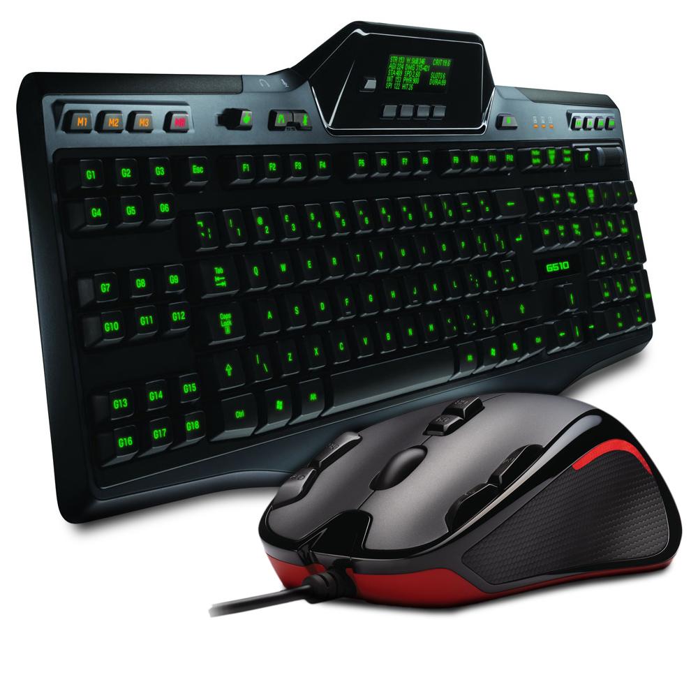 logitech gaming keyboard g510 g300 gaming mouse pack. Black Bedroom Furniture Sets. Home Design Ideas