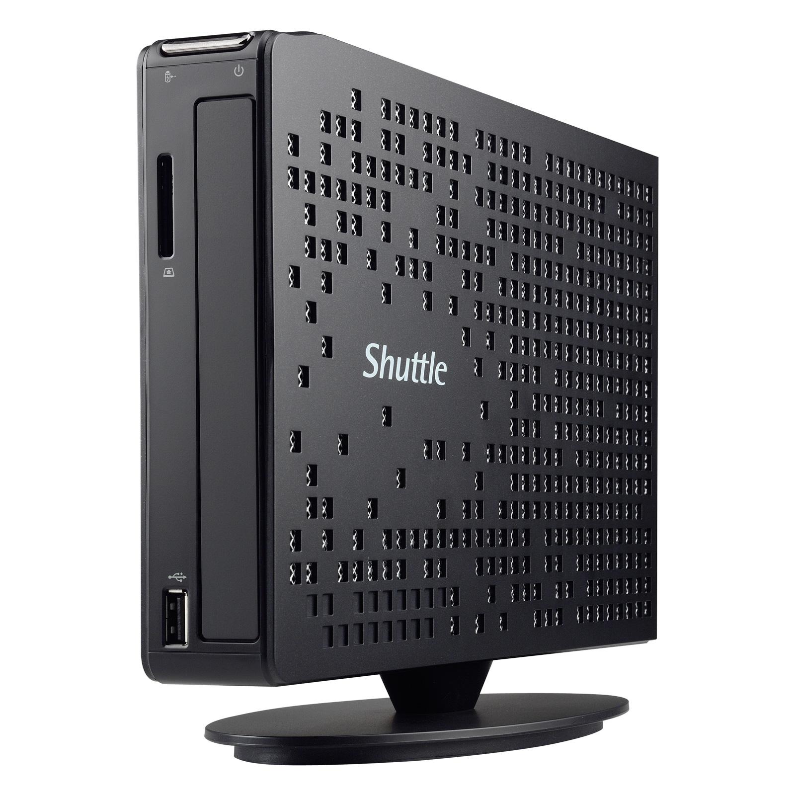 PC de bureau Shuttle XS35-703 V4 Intel Celeron J1900 4 Go 500 Go Intel HD Graphics Wi-Fi N (sans écran)
