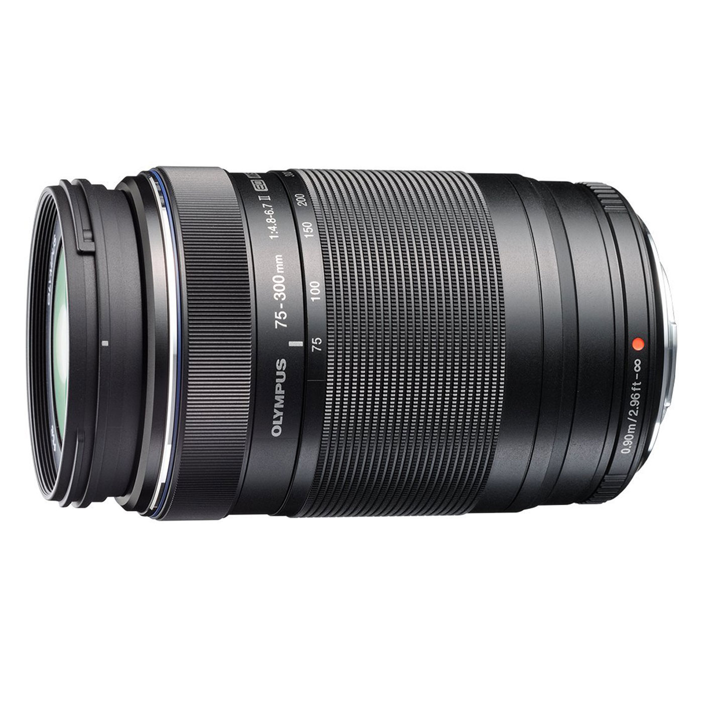 Objectif appareil photo Olympus M.ZUIKO DIGITAL ED 75-300mm II 1:4.8-6.7 Téléobjectif compact 70 x116 mm