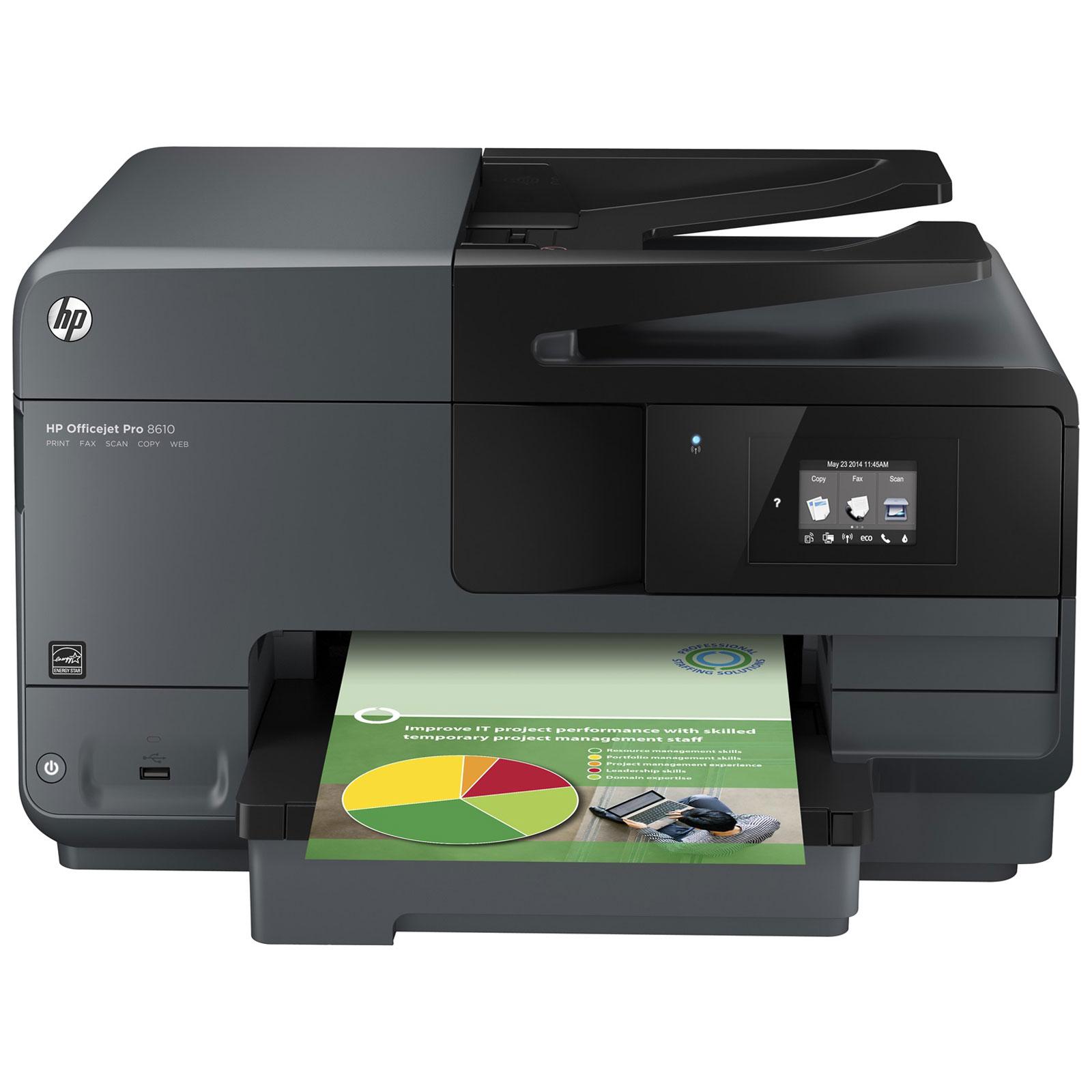 hp officejet pro 8610 imprimante multifonction hp sur. Black Bedroom Furniture Sets. Home Design Ideas