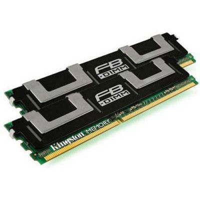 Mémoire PC Kingston for IBM 8 Go (2 x 4 Go) 667 MHz ECC Kit Dual Channel DDR2-SDRAM PC2-5300 FB-DIMM - KTM5780/8G (garantie à vie par Kingston)