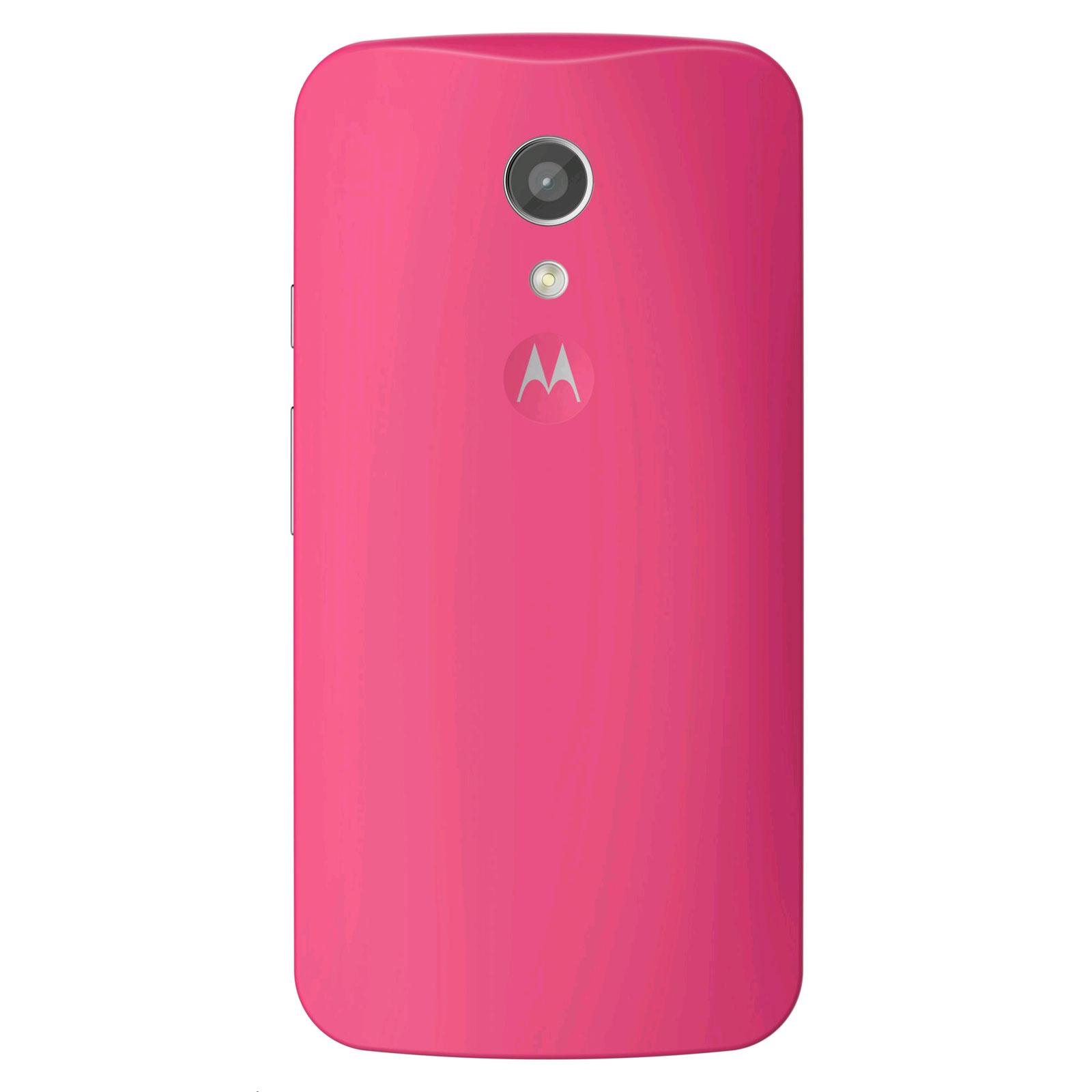 Bien connu Motorola Coque d'origine Framboise Motorola Moto G 2ème Génération  RA35