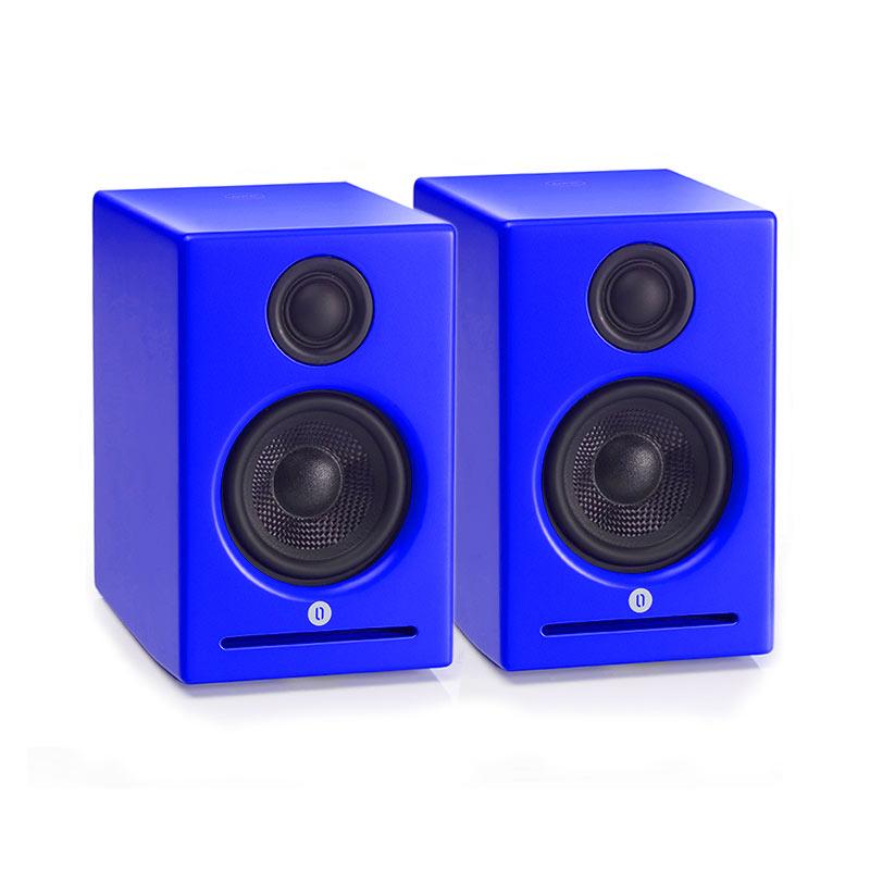 Vieta vo bs30bl bleu par paire dock enceinte for Housse ue megaboom
