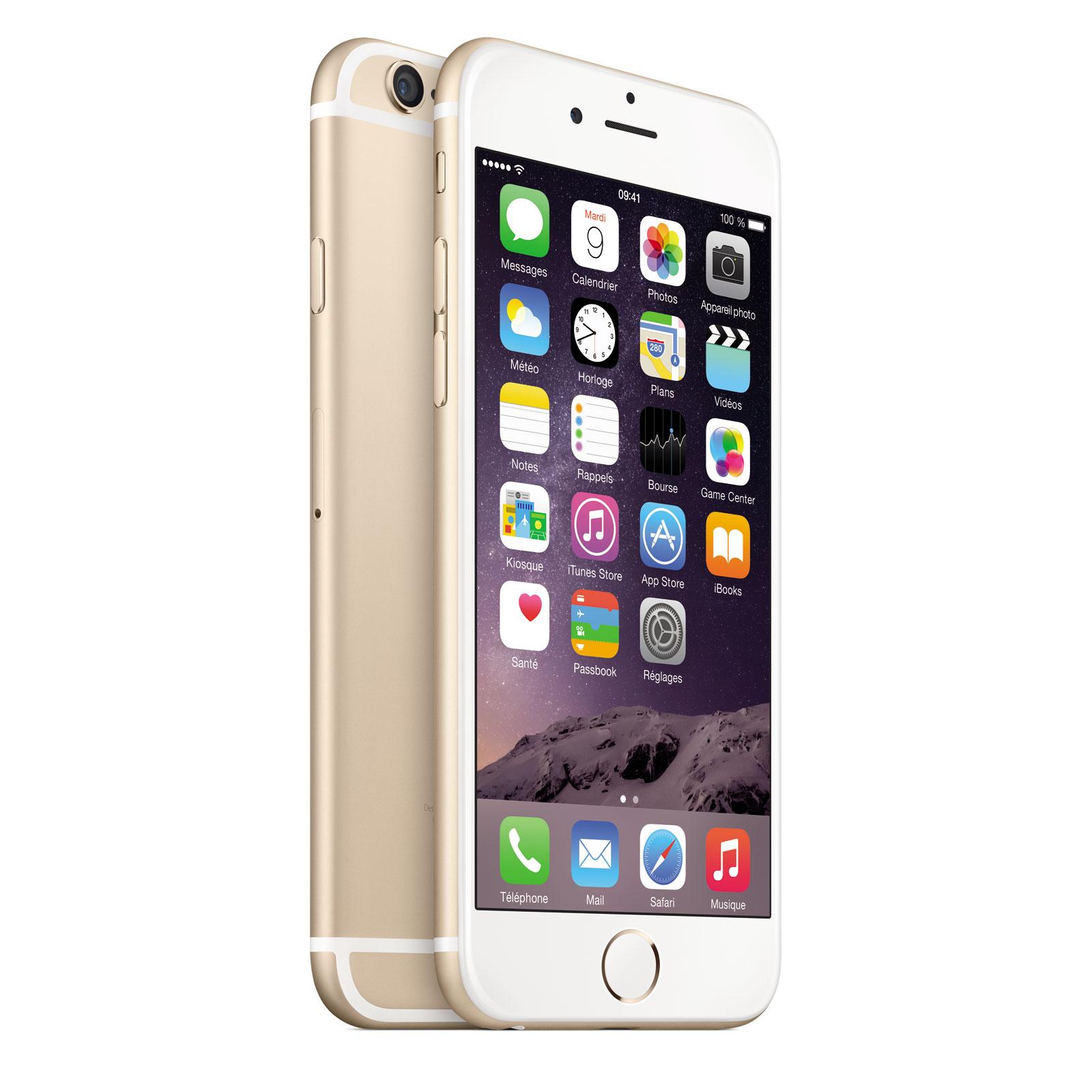 apple iphone 6 64 go or mobile smartphone apple sur. Black Bedroom Furniture Sets. Home Design Ideas