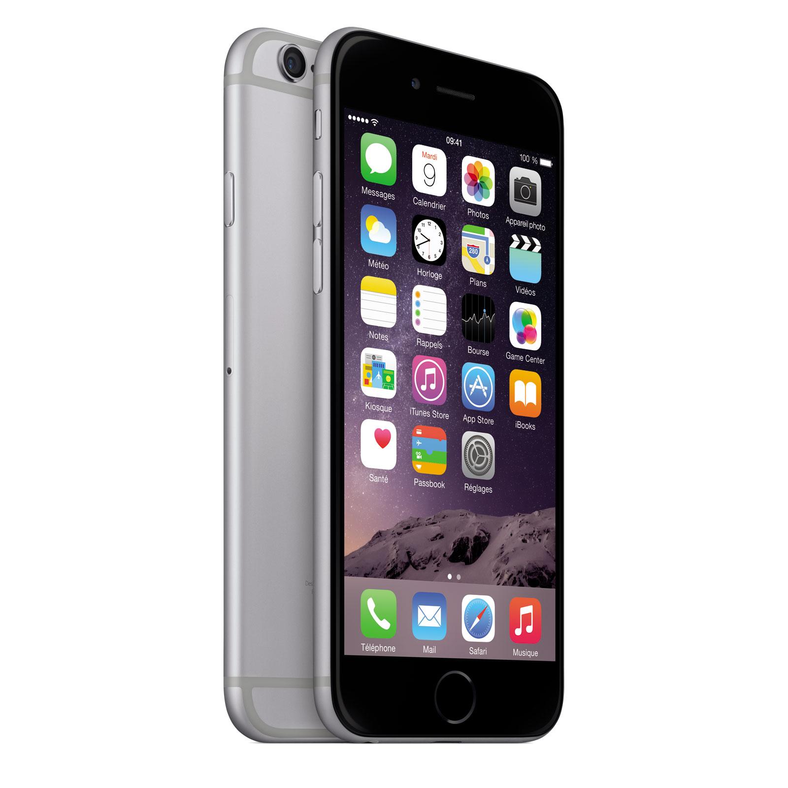 apple iphone 6 128 go gris sid ral mobile smartphone. Black Bedroom Furniture Sets. Home Design Ideas