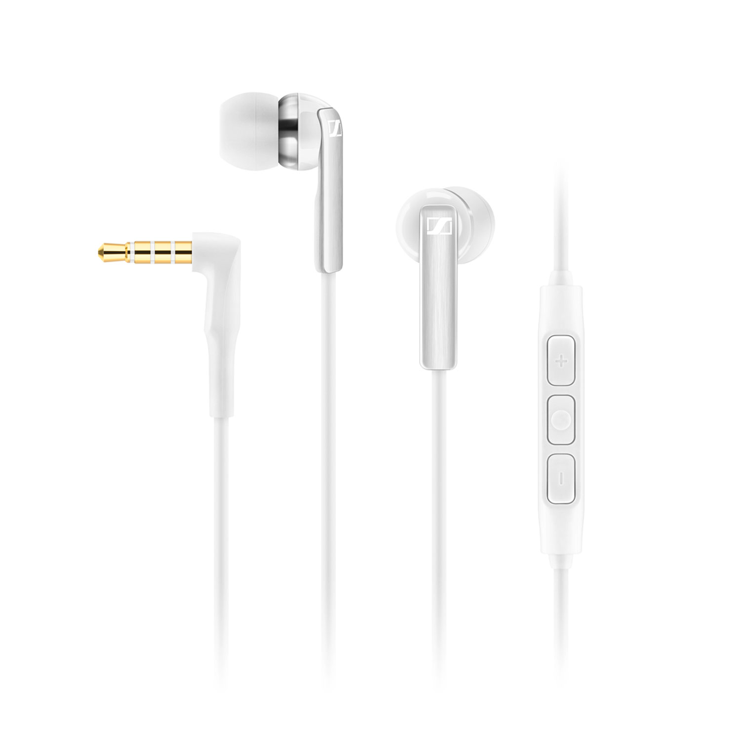 Casque Sennheiser CX 2.00i Blanc Ecouteurs intra-auriculaire - compatible iPhone/iPad/iPod