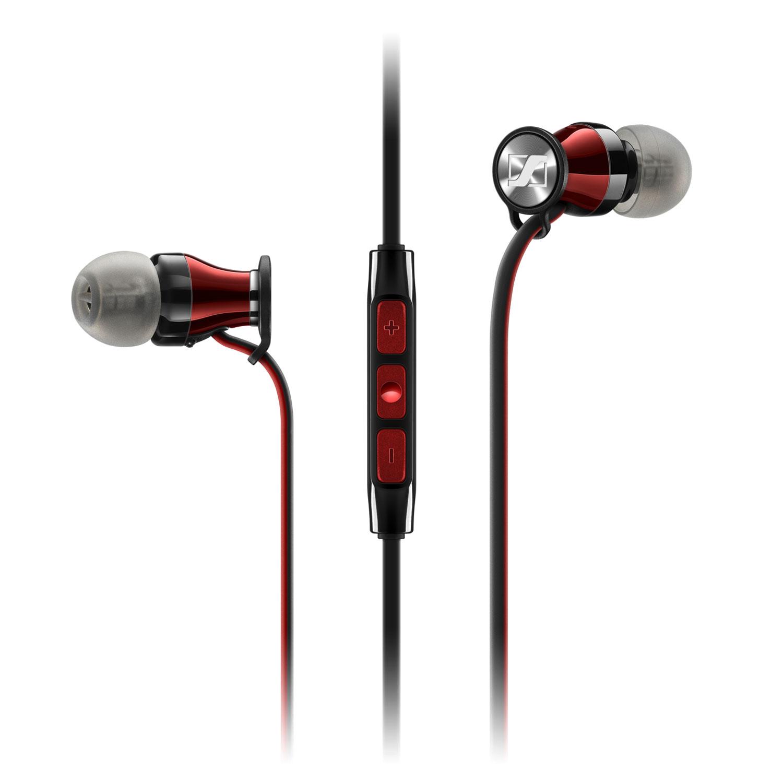 Casque Sennheiser Momentum In-ear i Noir Ecouteurs intra-auriculaire - compatible avec iPhone/iPad/iPod