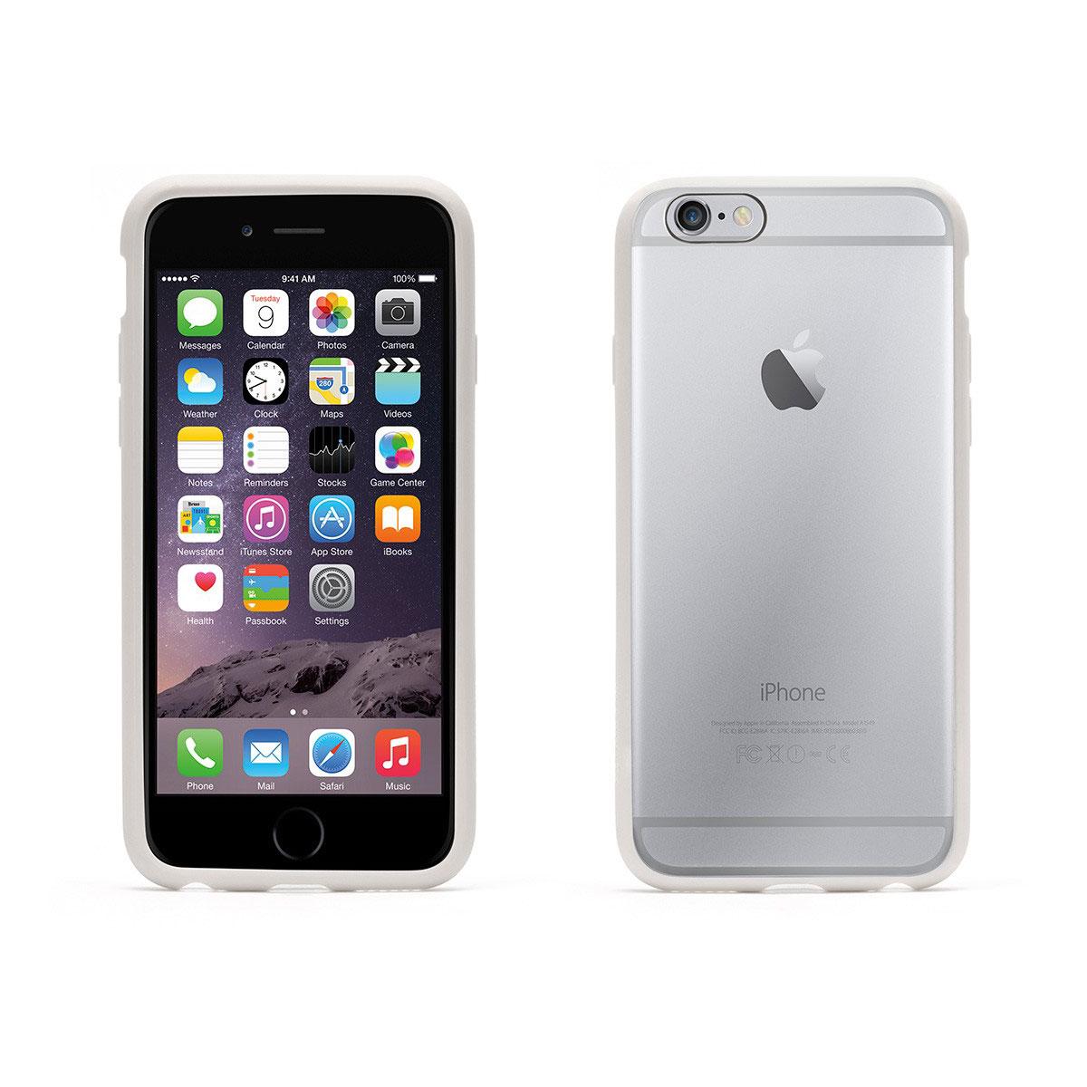 Etui téléphone Griffin Reveal Blanc/Transparent Apple iPhone 6/6s Coque de protection pour iPhone 6/6s