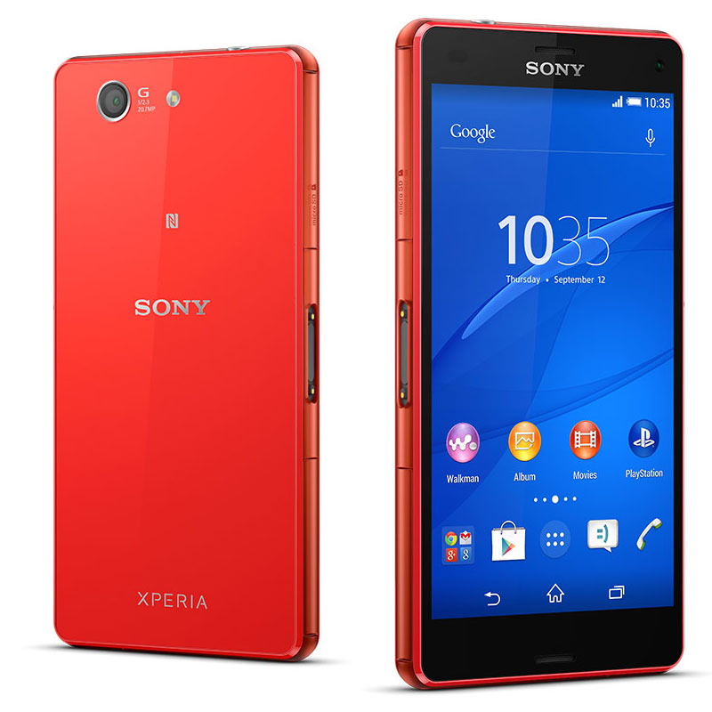 sony xperia z3 compact orange mobile smartphone sony sur. Black Bedroom Furniture Sets. Home Design Ideas
