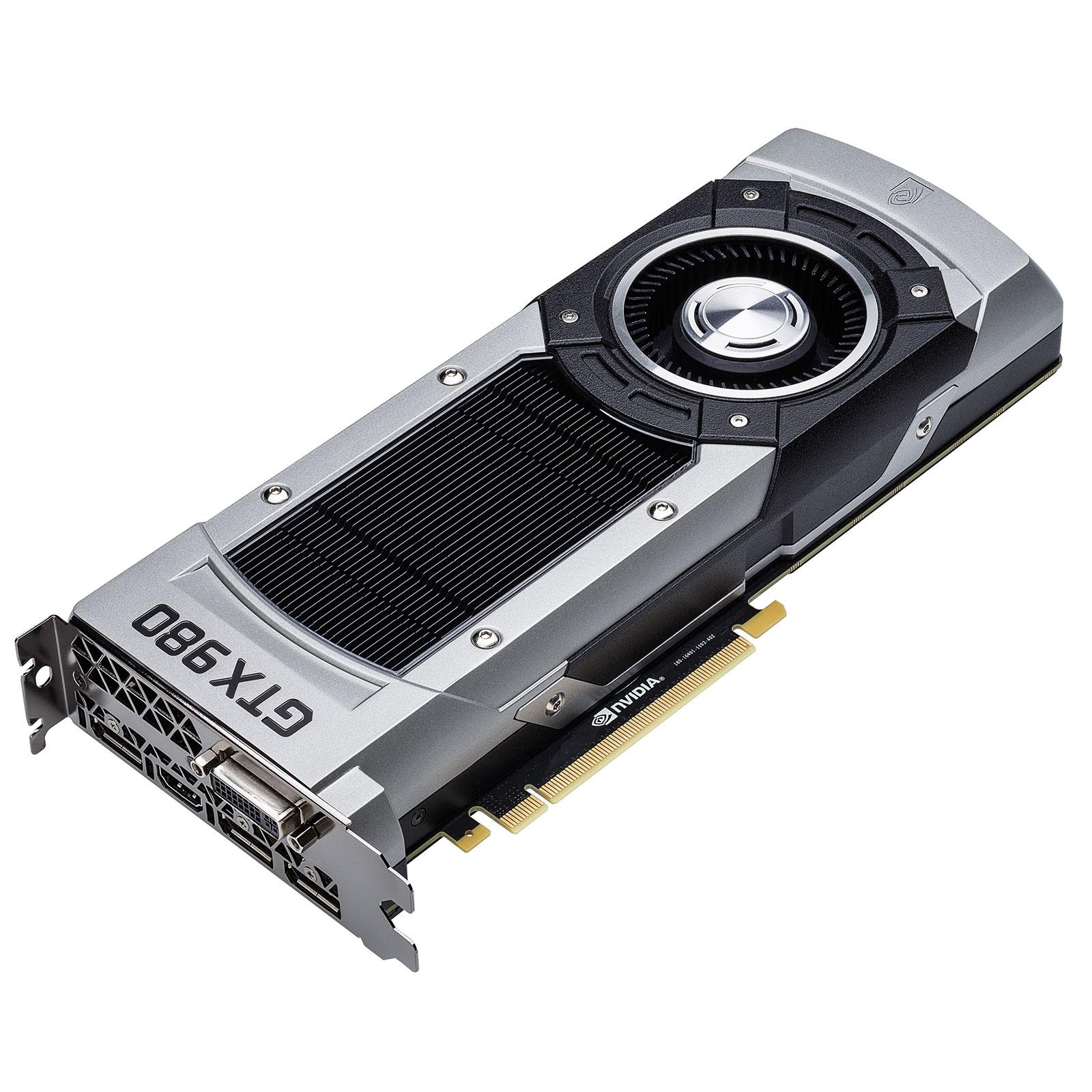 Carte graphique Gigabyte GV-N980D5-4GD-B - GeForce GTX 980 4 Go 4096 Mo DVI/HDMI/Tri DisplayPort - PCI Express (NVIDIA GeForce avec CUDA GTX 980)