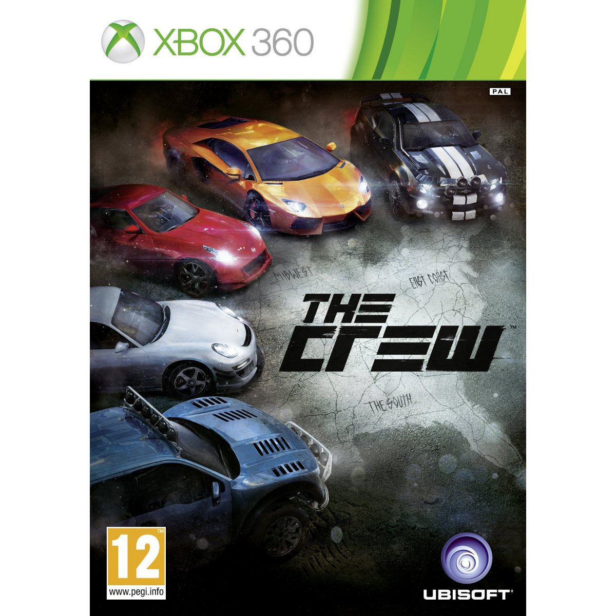 the crew xbox 360 jeux xbox 360 ubisoft sur. Black Bedroom Furniture Sets. Home Design Ideas