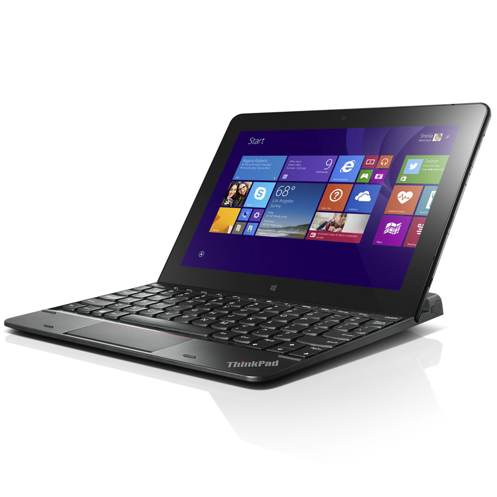 lenovo thinkpad 10 ultrabook clavier tablette lenovo sur. Black Bedroom Furniture Sets. Home Design Ideas