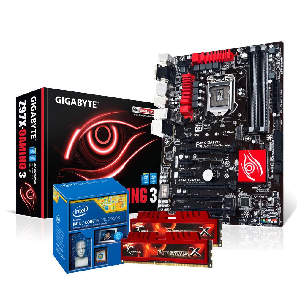 Gigabyte z97x gaming 5 4 7 7 145 95 in stock 3 5 pcs - Kit Upgrade Pc Core I5 Gigabyte Ga Z97x Gaming 3 8 Go Carte M Re Atx Socket 1150 Intel Z97 Express Cpu Intel Core I5 4690k 3 5 Ghz Ram 8 Go Kit 2x 4