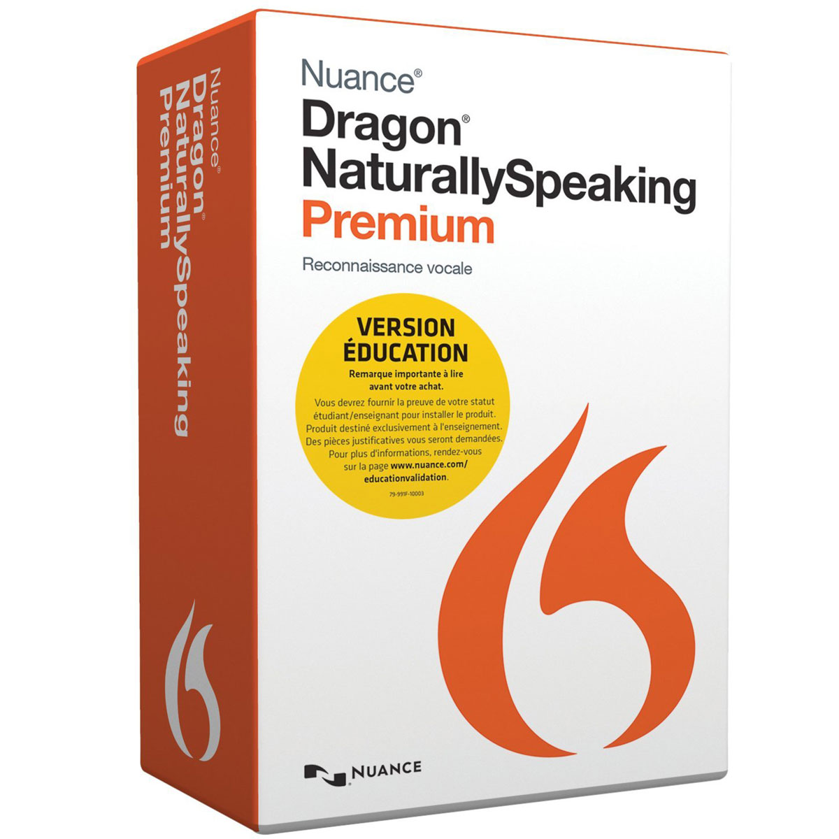 Nuance dragon naturallyspeaking premium 13 education fran ais windows logiciel bureautique - Pack office mac gratuit francais ...