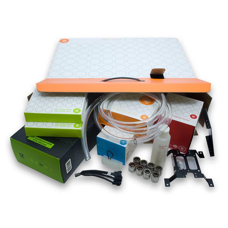 Watercooling EK Water Blocks EK-KIT X240 Kit de watercooling haute performance