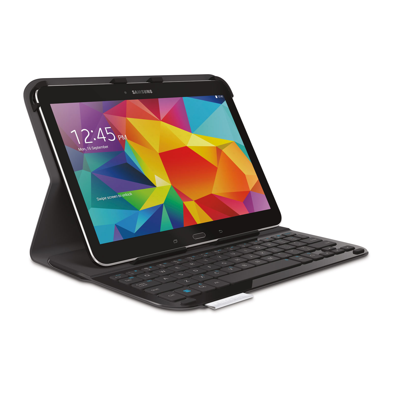 logitech ultrathin keyboard folio pour samsung galaxy tab 4 10 1 etui tablette logitech sur. Black Bedroom Furniture Sets. Home Design Ideas