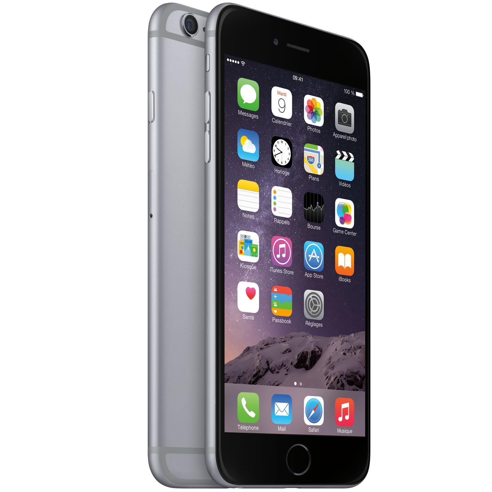 apple iphone 6 plus 16 go gris sid ral mobile smartphone apple sur. Black Bedroom Furniture Sets. Home Design Ideas