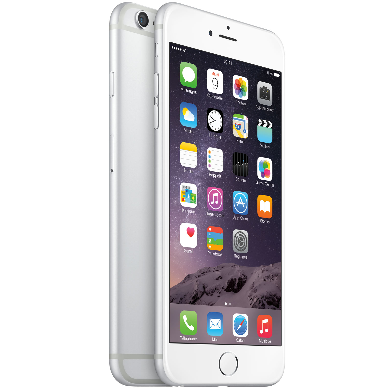apple iphone 6 plus 16 go argent mobile smartphone apple sur. Black Bedroom Furniture Sets. Home Design Ideas