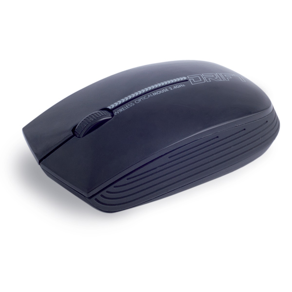 Souris PC Advance Drift Mouse (noir) Souris sans fil - ambidextre - capteur optique 1600 dpi - 3 boutons