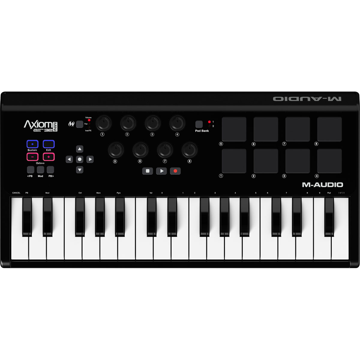 m audio axiom air mini 32 clavier home studio m audio. Black Bedroom Furniture Sets. Home Design Ideas