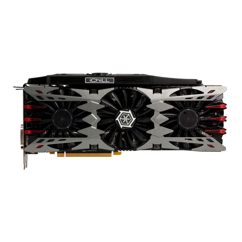 Carte graphique Inno3D iChill GeForce GTX 970 4GB X4 Air Boss Ultra 4096 Mo DVI/HDMI/Tri DisplayPort - PCI Express (NVIDIA GeForce avec CUDA GTX 970)