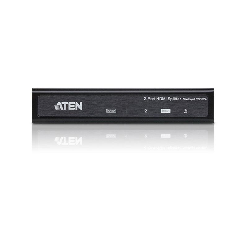 HDMI Aten VS182A Répartiteur audio-vidéo HDMI à 2 ports