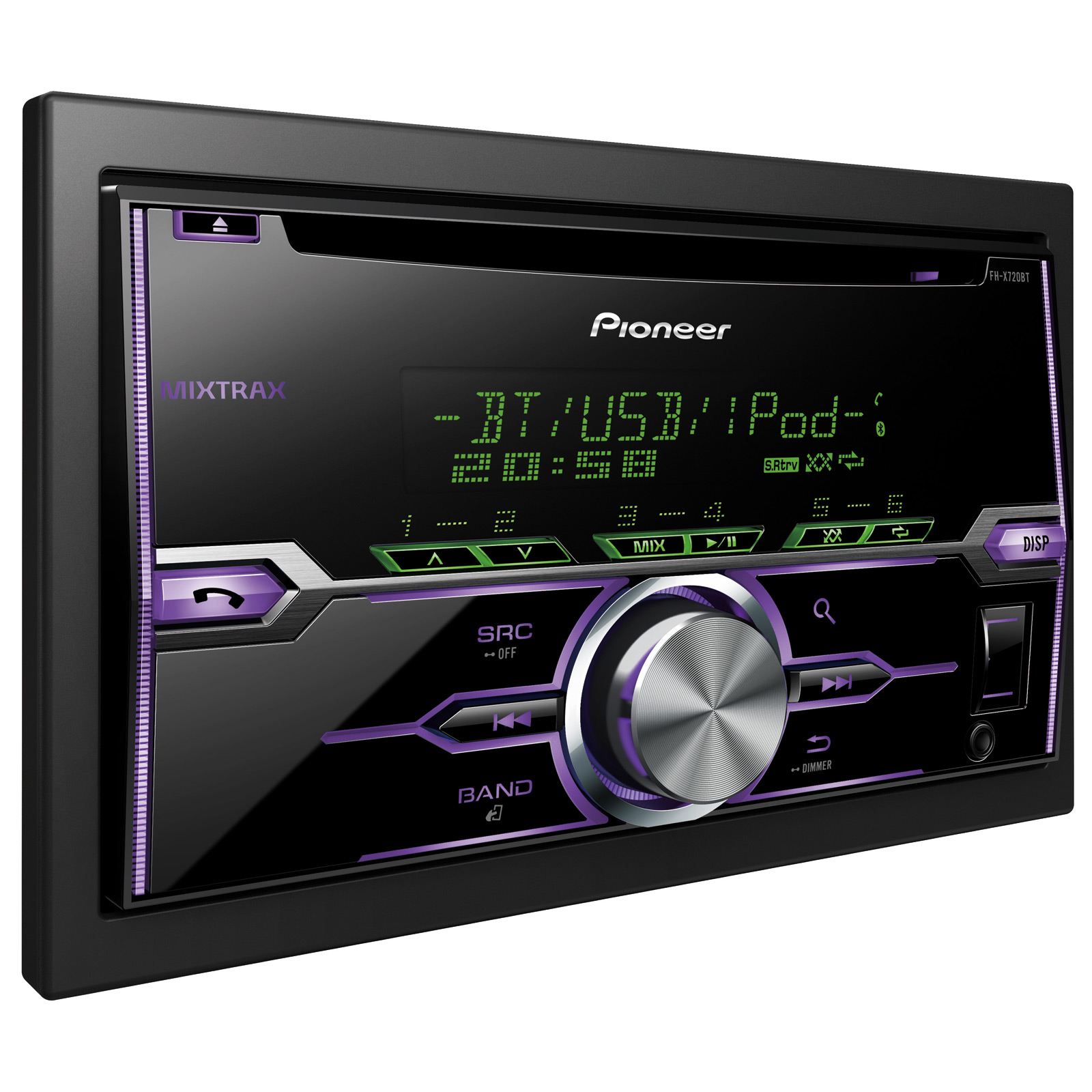 pioneer fhx 720bt autoradio pioneer sur. Black Bedroom Furniture Sets. Home Design Ideas