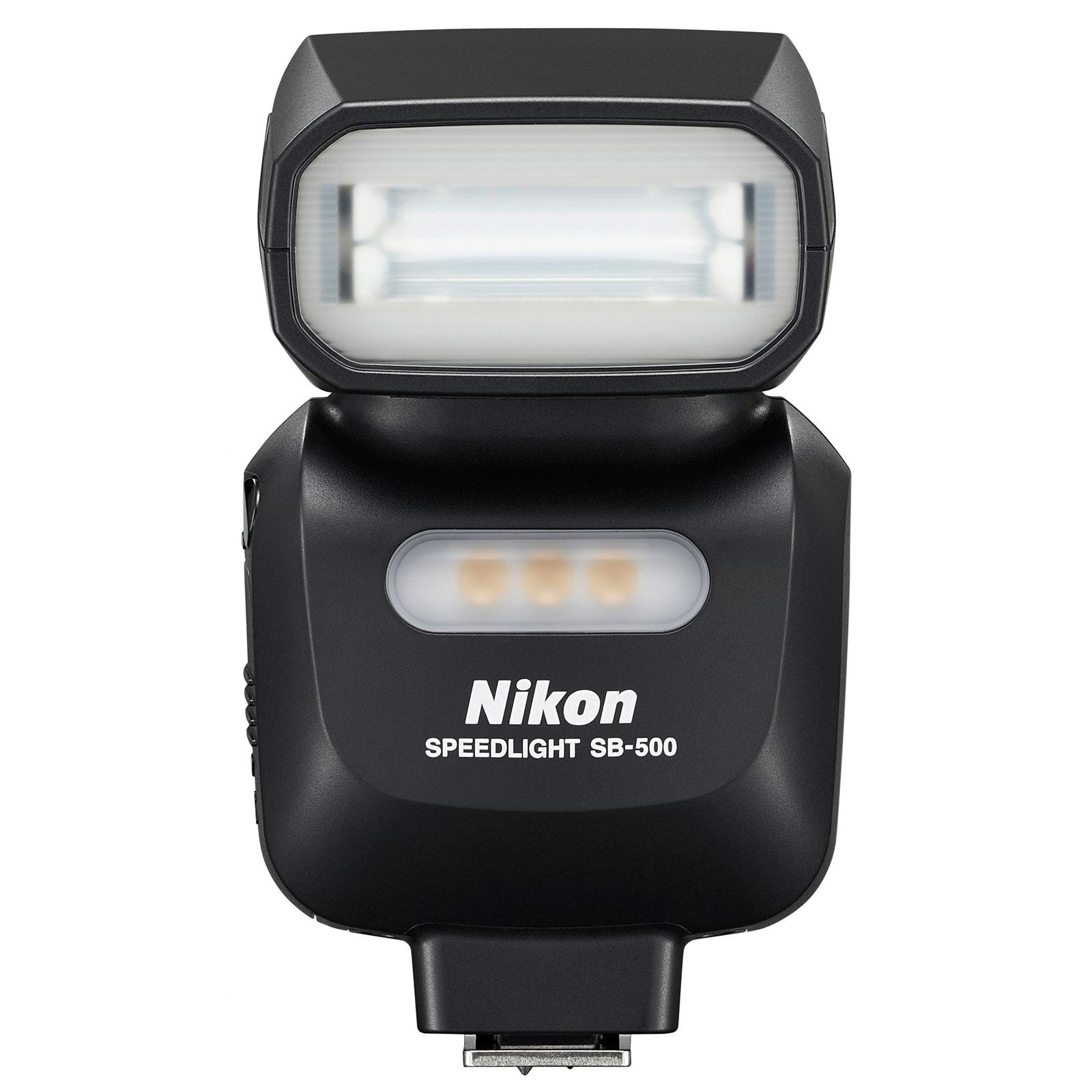 Flash appareil photo Nikon SB-500 Flash  Flash (pour tout Reflex numériques et Coolpix Nikon avec griffe flash)