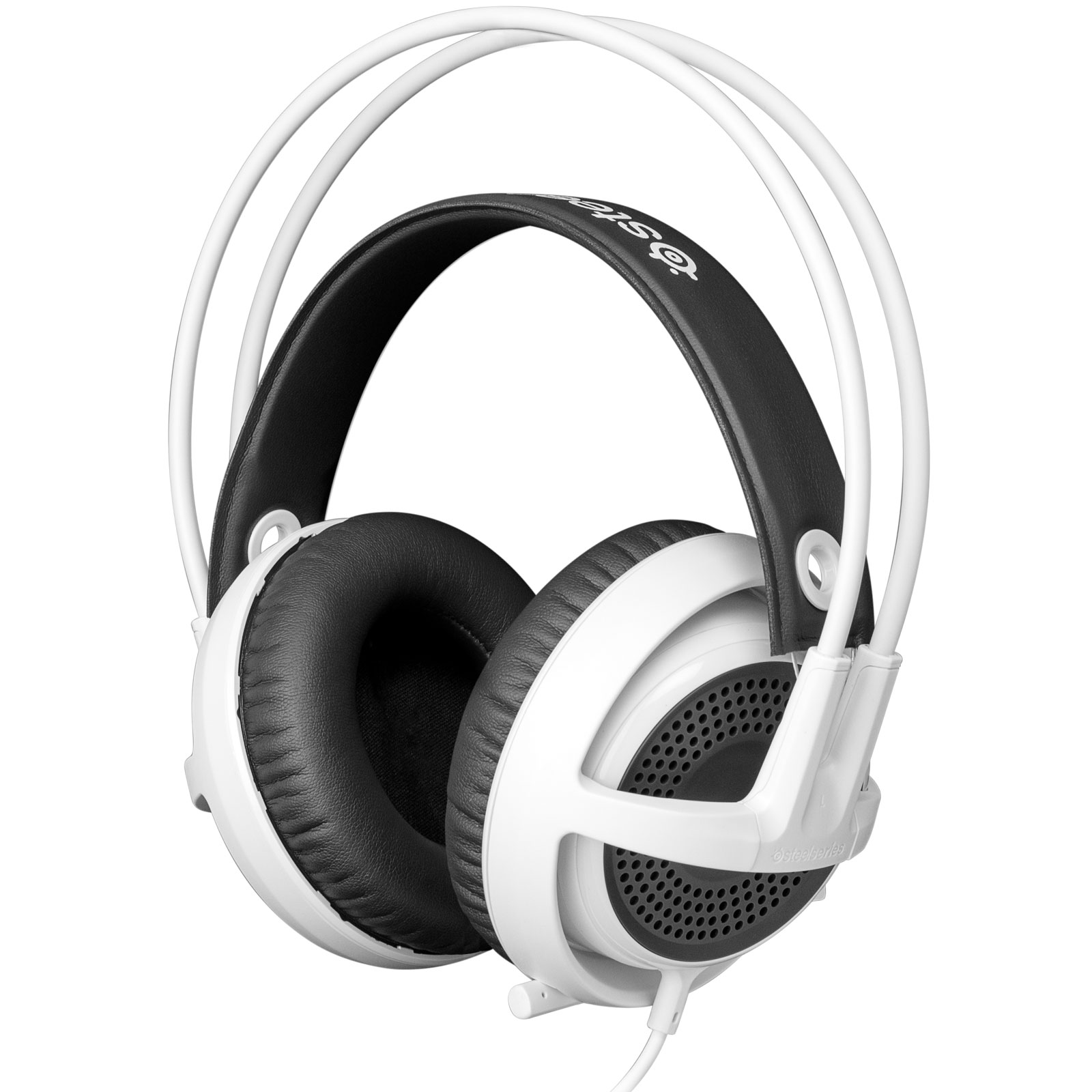 steelseries siberia v3 blanc micro casque steelseries. Black Bedroom Furniture Sets. Home Design Ideas
