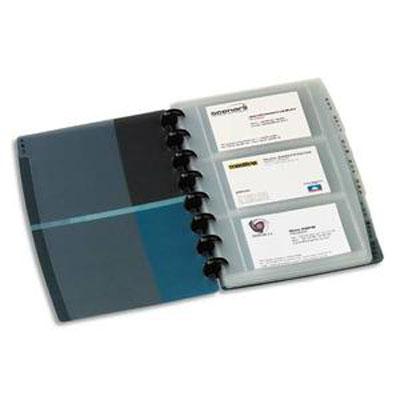Elba proline porte carte visite 90 cartes translucide - Porte carte de visite de bureau ...