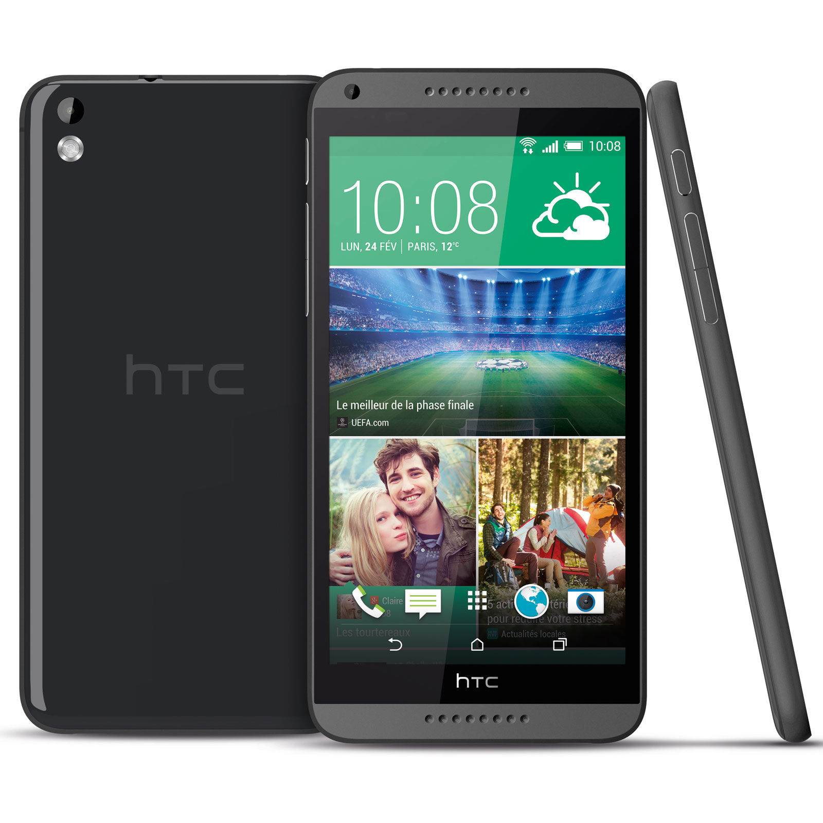 htc desire 816 gris mobile smartphone htc sur. Black Bedroom Furniture Sets. Home Design Ideas