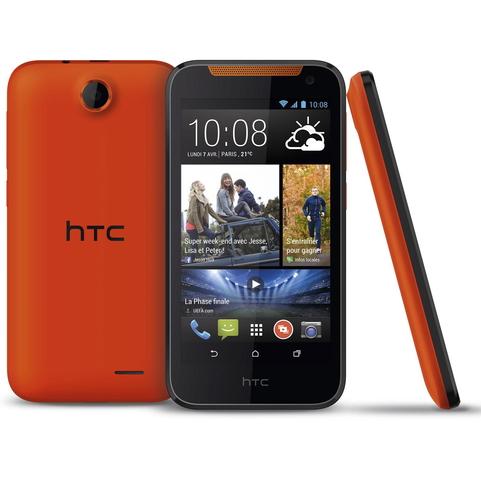 htc desire 310 orange mobile smartphone htc sur. Black Bedroom Furniture Sets. Home Design Ideas