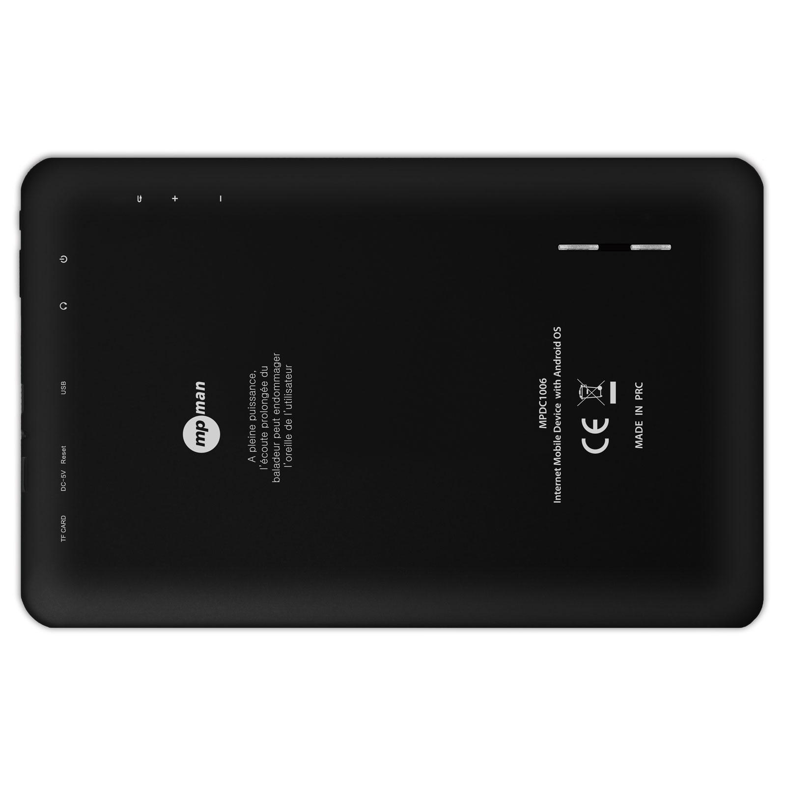 Mpman Mpdc1006 8 Go Tablette Tactile Mp Man Sur Ldlc Com