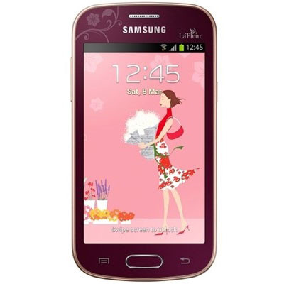 samsung galaxy trend lite gt s7390 rouge la fleur mobile smartphone samsung sur. Black Bedroom Furniture Sets. Home Design Ideas