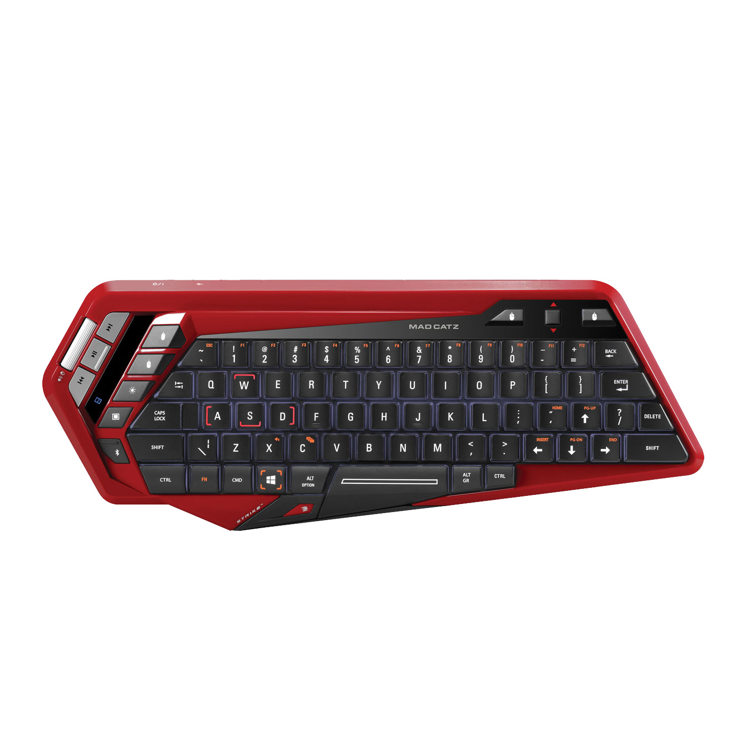 mad catz s t r i k e m strike m red clavier pc mad. Black Bedroom Furniture Sets. Home Design Ideas