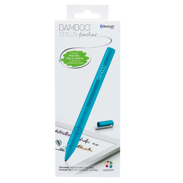 wacom bamboo stylus fineline bleu stylet tablette. Black Bedroom Furniture Sets. Home Design Ideas